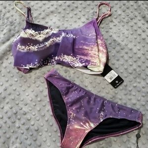 NWT Wildfox bikini top and bottom